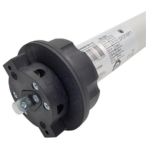 mm markisen proheim markisenmotor 50nm inkl adapter 78 mm rund