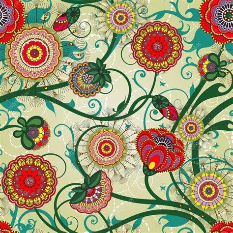 imagenes retro y vintage beautiful floral vintage wallpaper stock vector 169 juliet