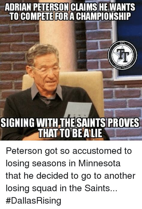 Adrian Peterson Memes - adrian peterson claims he wants to compete fora