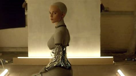ex machina ava actress ava from ex machina is the new lara croft in tomb raider