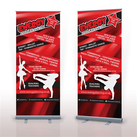 design a banner uk roller banner designer suffolk dance school keakreative