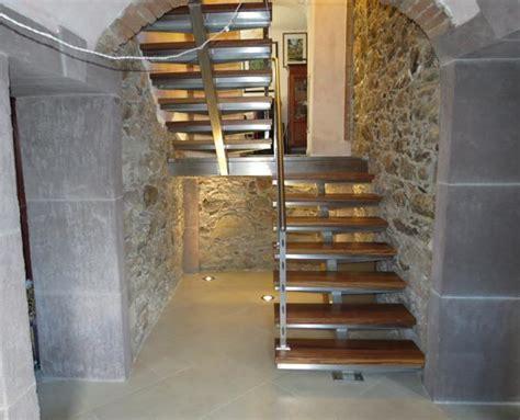 scale inox per interni bruno acciai scala per interni in acciaio inox e iroko