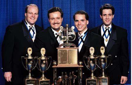 barbershop quartet acoustix spangled banner singers list of barbershop quartet international