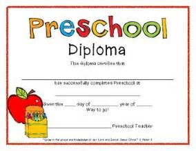 preschool graduation diploma template preschool graduation graduation and preschool on