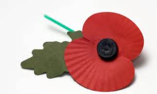 what colour poppy will you wear on remembrance sunday