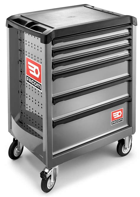 Roller Drawer by Facom Roll 6gm3 6 Drawer Mobile Roller Cabinet Grey Roll Cab