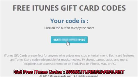 How To Get A Free Itunes Gift Card Code - how to get free 50 itunes gift card codes august 2017 youtube