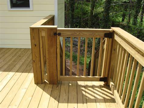 gate  deck stairs decks ideas