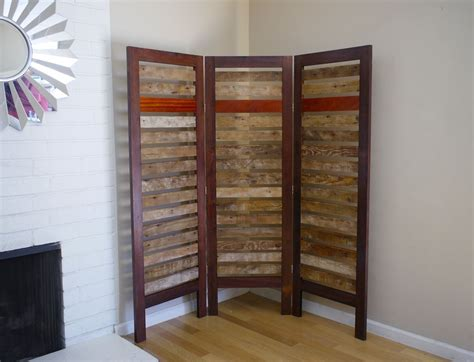 Rustic Room Divider Buy A Handmade Rustic Room Divider Made From Reclaimed Lumber Made To Order From What If