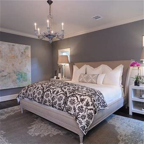 chelsea gray bedroom gray walls contemporary bedroom ralph