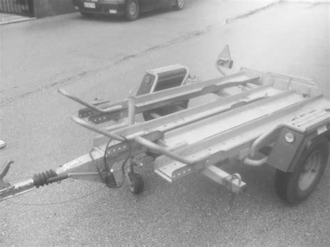 rimorchio porta auto usato foto rimorchio carrello appendice carrello porta moto