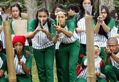 Al Xenza Asli Di Kota Pekanbaru permainan tradisional sunda foto 1 40871 tribunnews