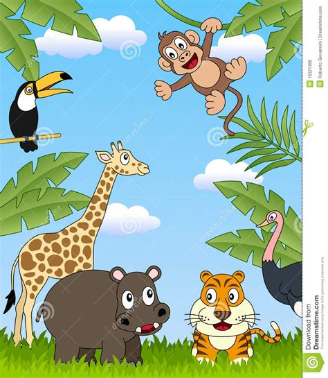 african animals group  royalty  stock image image
