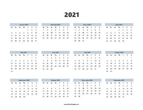 calendar  printable allfreeprintablecom