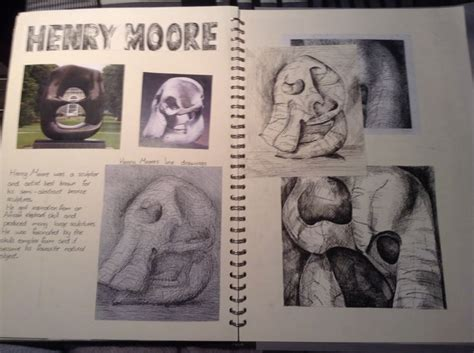sketchbook gcse gcse sketchbook by noah walton gcse sketchbook