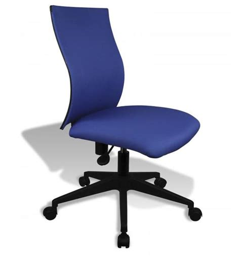 Simple Desk Chairs by Simple Ergo Curve Office Chair No Armrests In Armless