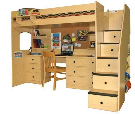 advantages  wood loft bed  desk stylish home
