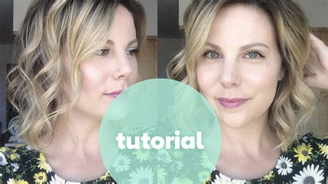 beachy waves with curling wand short hair tutorial how to curl short hair beachy waves with nume