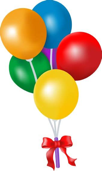 clipart ballo birthday clip
