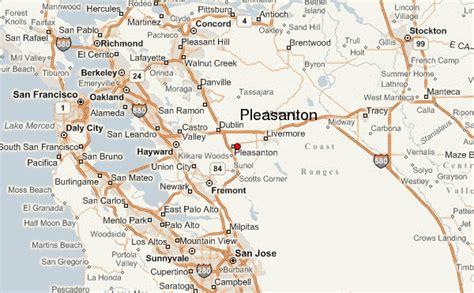 pleasanton california map pleasanton location guide