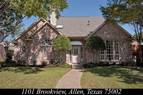 houses for sale in allen tx allen tx homes for sale 1101 brookview dr