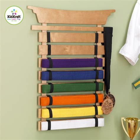 Martial Arts Belt Display Rack by Martial Arts Belt Holder By Kidkraft Rosenberryrooms