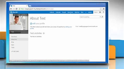 Office 365 Login Portal Uk How To Change Your Profile Picture In Office 365
