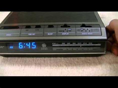 vintage sprinkler ge alarm clock from harley badger