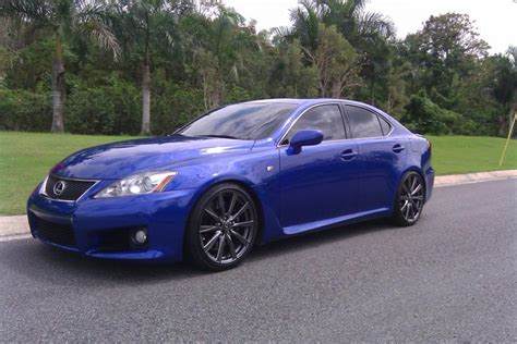 isf lexus blue official ultrasonic blue is f pictures club lexus forums