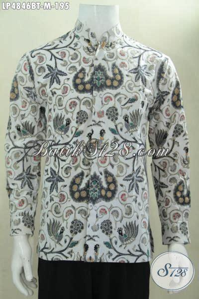 Baju Koko Tenun Lengan Pendek Bordir Kombinasi Al Aziz baju koko batik lengan panjang kombinasi tulis motif klasik dasar putih pas untuk pria muda dan