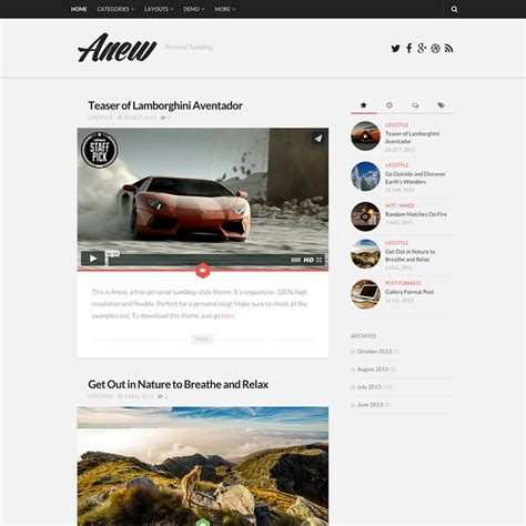 wordpress theme orion free gray anex free responsive wordpress theme