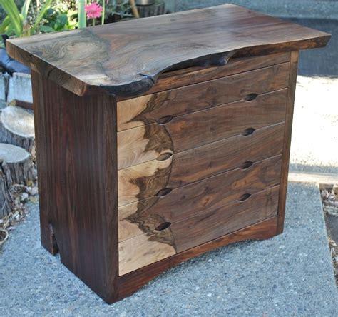 custom modern dresser mid century claro walnut by aaron