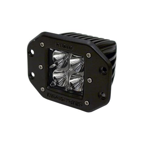 flush mount led lights rigid industries dually flush mount led light