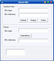 membuat database xp vb 6 quot membuat kamus melalui database quot xp dc