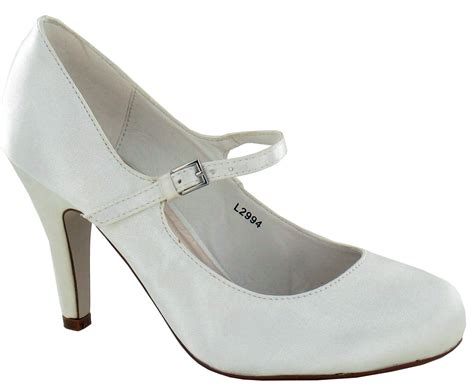 ivory womens shoes womens ivory satin wedding bridal ankle bar