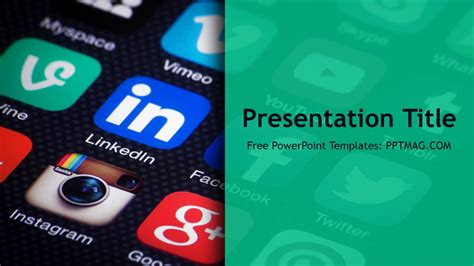free social media powerpoint templates free social media powerpoint template pptmag