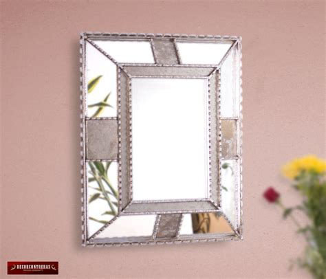 decorative bathroom wall mirrors silver decorative wall mirror bathroom silver mirror