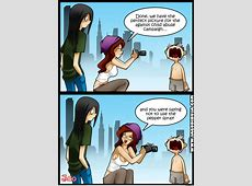 Living With Hipstergirl And Gamergirl 07 by jagodibuja ... Living With Gamer Girl Comic