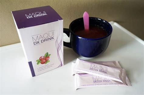 Maqui Detox Ingredient by Jorise Maqiu Detox Drink