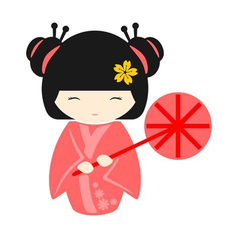geisha clipart geisha pack cuttable design