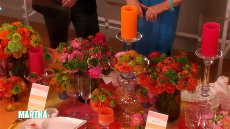 colorful wedding reception decorating ideas martha stewart