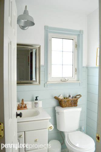 updated bathroom ideas 210 powder room update the weathered fox