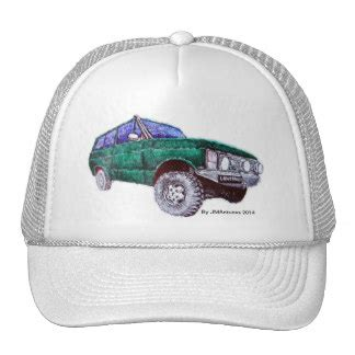 Topi Trucker Cap Land Rover V 29 custom land rover hats caps zazzle co nz