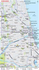 Map Of Chicago Suburbs by Similiar Map Of Downtown Chicago Area Keywords