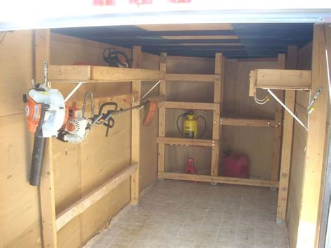 enclosed trailer shelving want to make government cool