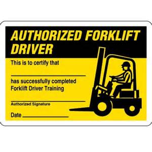forklift operator certification card template certification cards authorized forklift driver seton