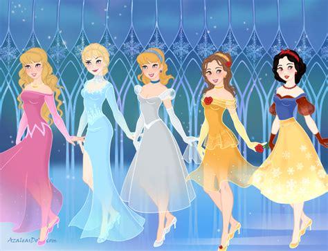 cinderella film aurora aurora elsa cinderella belle snow white at organ by