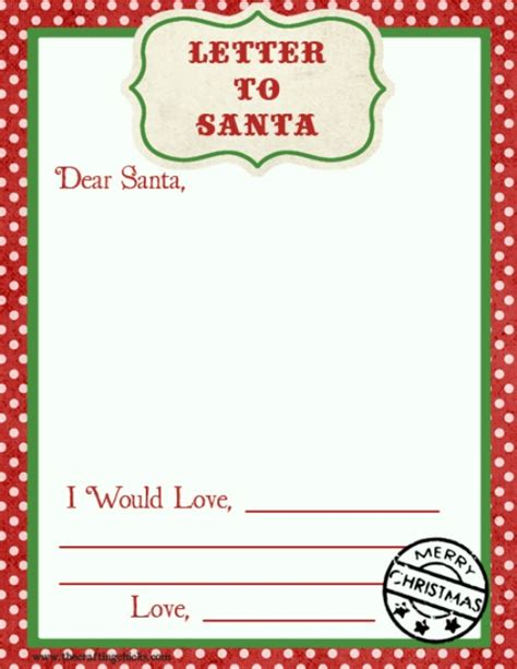 Advent Christmas Activities For Kids Clean Scentsible Santa Letter Template