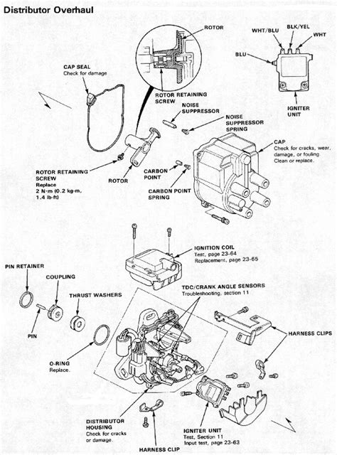 distributor rotor retaining honda tech