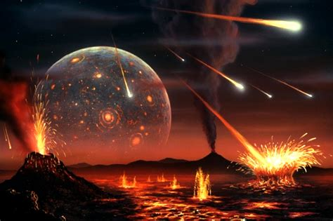 como era la tierra al principio de su formacion los meteoritos alteraron la qu 237 mica de la tierra el